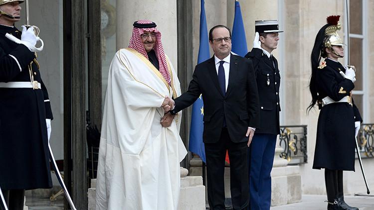 Francia concede su máxima condecoración al heredero saudí 'a petición propia'