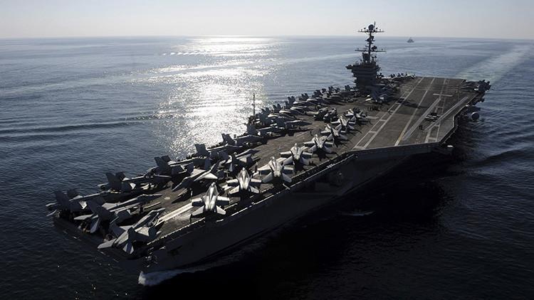 Un portaaviones de EE.UU. llega a Corea del Sur en plena escalada con Pionyang