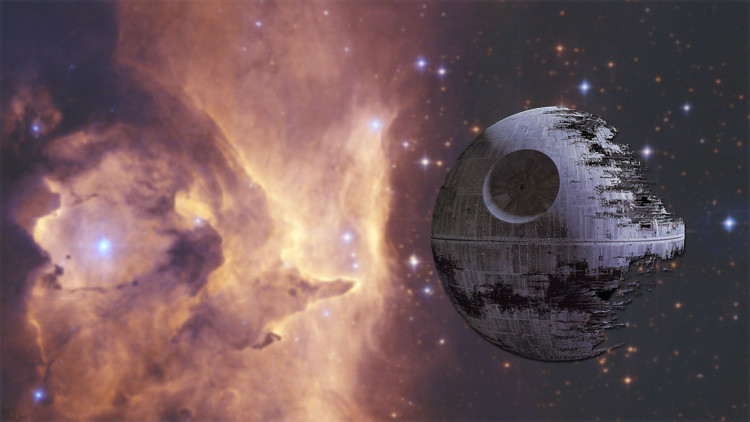 Una 'estrella de la muerte'  sigue 'devorando' cuerpos celestes