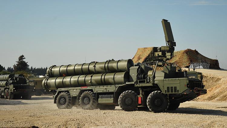 Rusia deja en Siria los avanzados sistemas antiaéreos S-400 Triumf