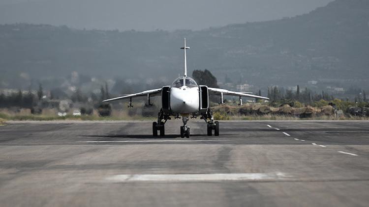El primer video: la Fuerza Aérea rusa se va de Siria