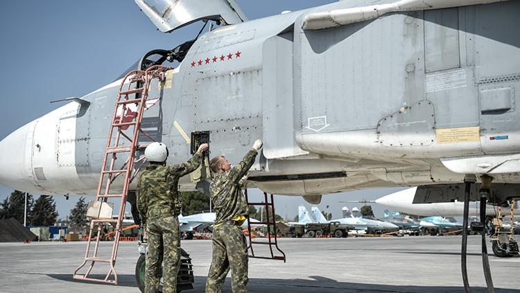 La aviación rusa continuará asestando golpes contra los terroristas en Siria