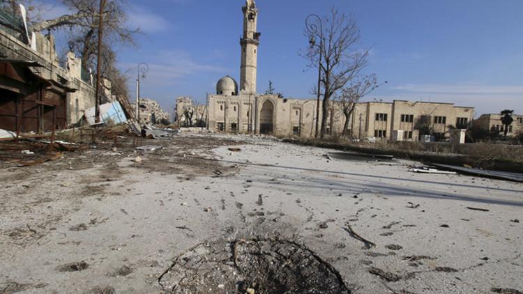 6 de 6: Todo el patrimonio cultural de la Unesco de Siria dañado o destruido