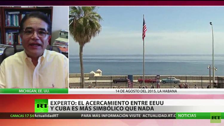 """""""El acercamiento entre EE.UU. y Cuba es más simbólico que nada"""""""