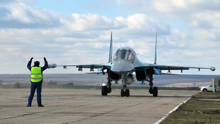 """La aviación rusa """"rompió el espinazo de los terroristas"""""""