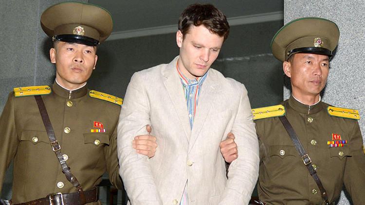 Corea del Norte condena a 15 años de trabajos forzados a un estadounidense por robar un cartel