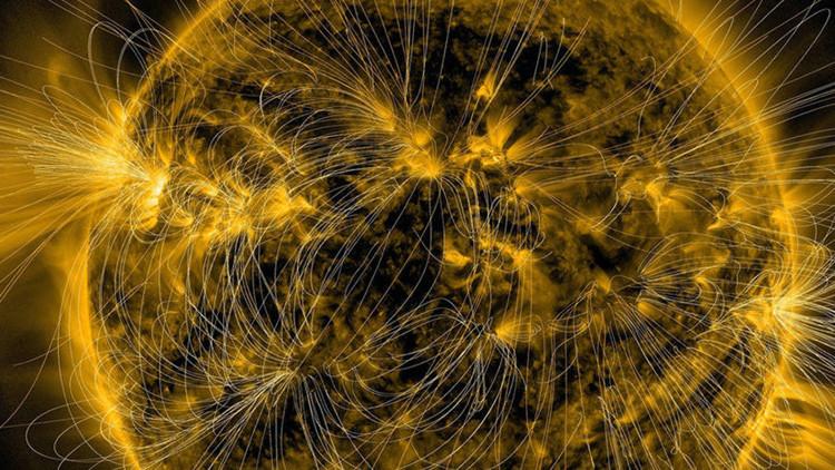Fascinantes imágenes de los campos magnéticos 'invisibles' del Sol en detalle (video, fotos)