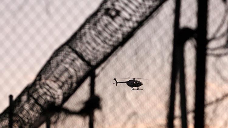 Espectacular vídeo de una fuga carcelaria en helicóptero en Canadá