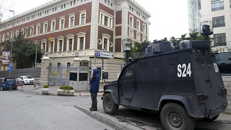 Cierra la Embajada alemana en Ankara por una amenaza terrorista
