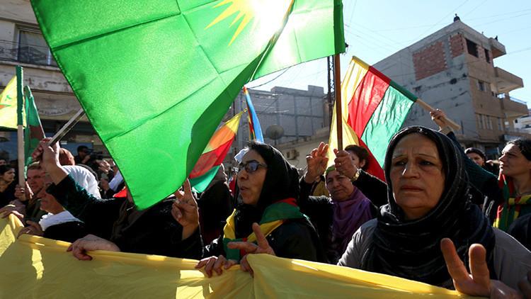 Los kurdos declaran la creación de una región federal en el norte de Siria
