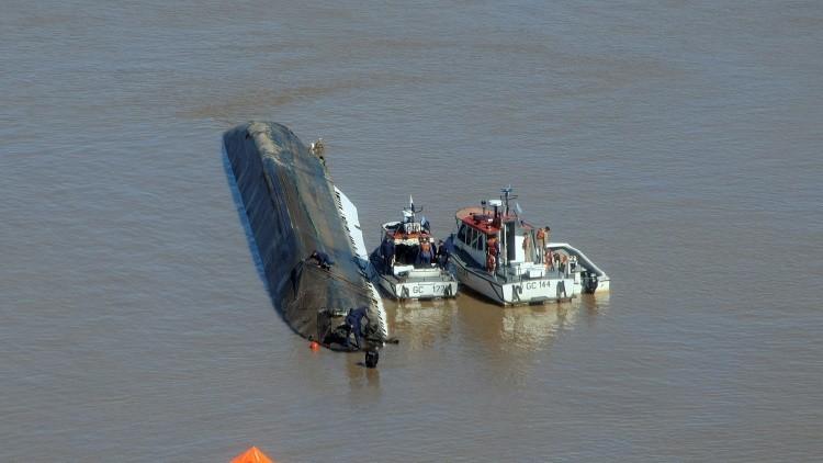 Publican el momento exacto del hundimiento del pesquero chino en Argentina (Video)