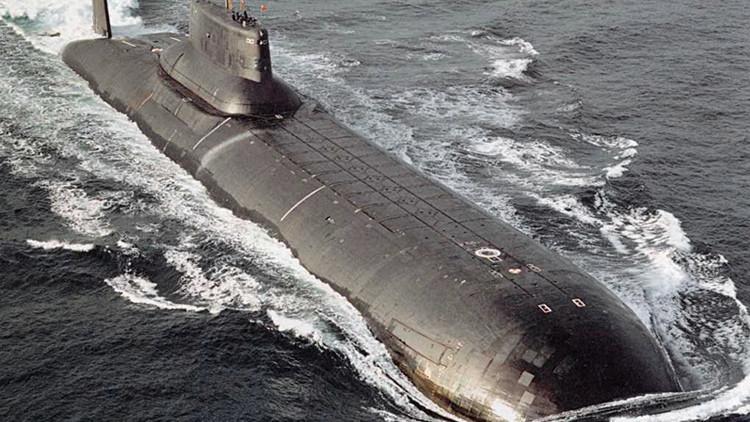 Un submarino del proyecto Akula / Typhoon /