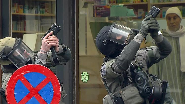 Dos explosiones en la zona de la operación especial antiterrorista en Bruselas