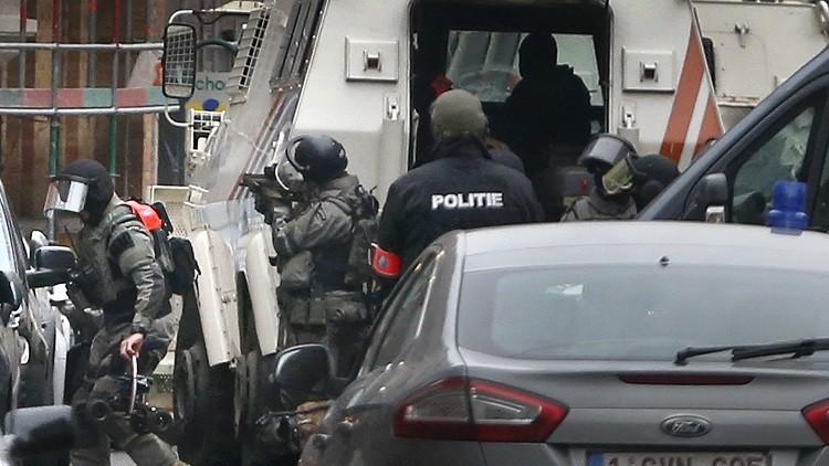 Video: Captura del terrorista más buscado de Europa en Bruselas