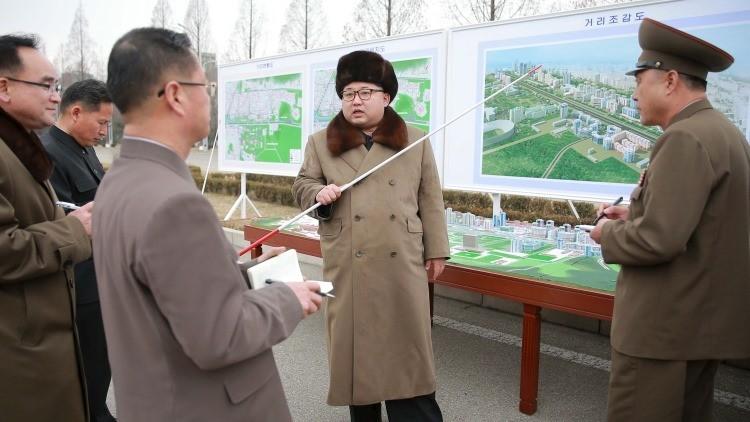 Kim Jong-un ordena construir una calle modelo para envidia del mundo