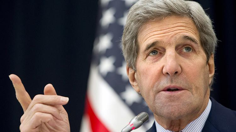 El secretario de Estado de EE.UU., John Kerry