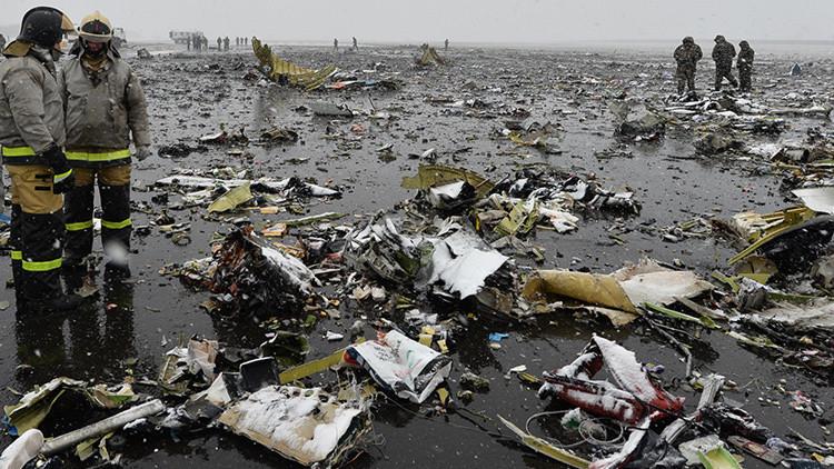 Todo lo que se sabe sobre la tragedia del avión Boeing 737 en el sur de Rusia