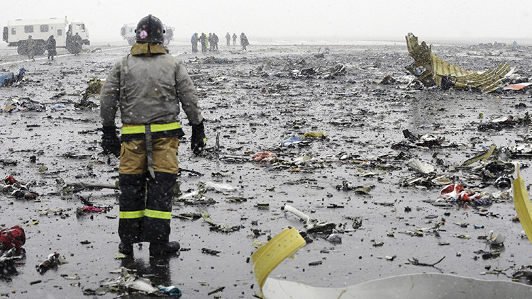 Accidente de Flydubai en Rusia