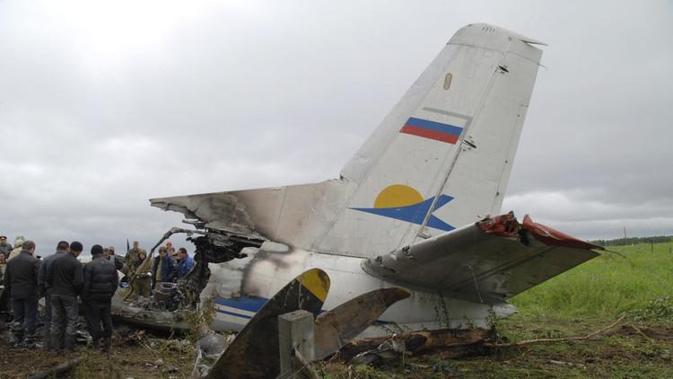 Los mayores accidentes aéreos en Rusia de los últimos 10 años