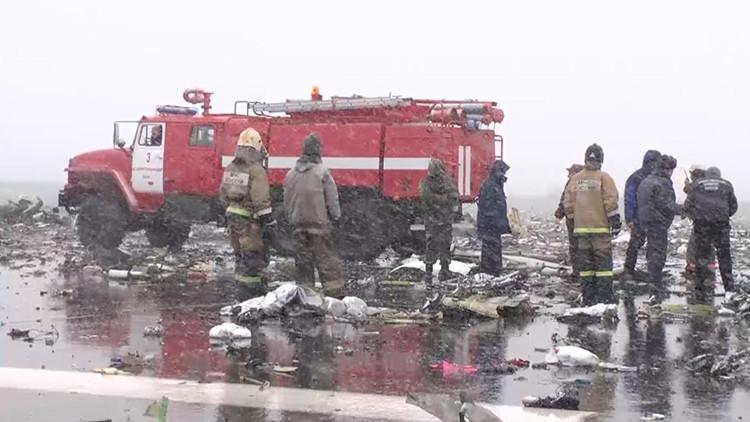 VIDEO: Estas eran las condiciones climáticas en las que intentó aterrizar el avión de Flydubai