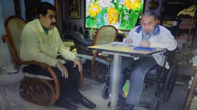 Nicolás Maduro se encuentra con Fidel Castro en La Habana (Fotos, video)