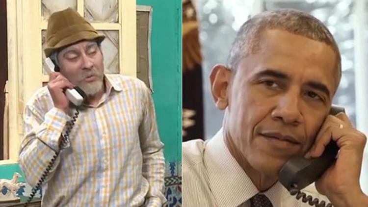 """""""Qué bolá"""": Obama pide a 'Pánfilo' un """"almendrón"""" para desplazarse por Cuba (Video)"""