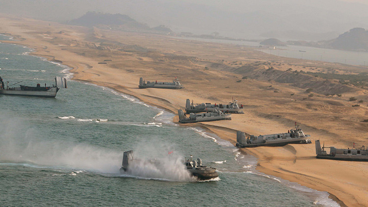 """Corea del Norte, dispuesta a """"enterrar en el mar a cualquier enemigo"""""""