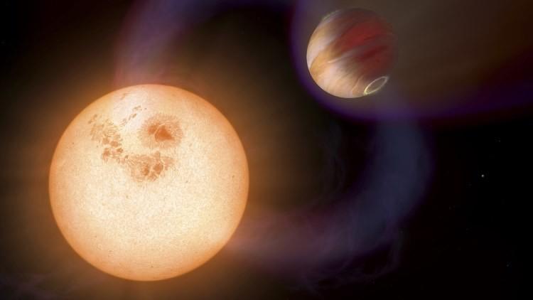 Descubren el planeta más excéntrico jamás visto, que se desplaza como un cometa