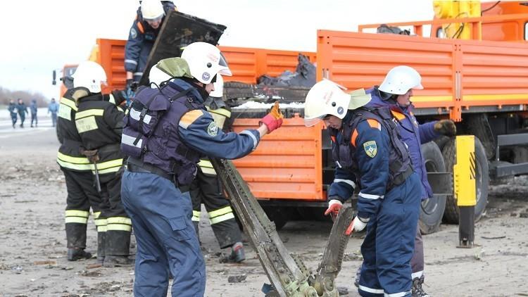 Impresionantes imágenes: Así quedó el avión de Flydubai siniestrado en Rusia (VIDEO, FOTOS)