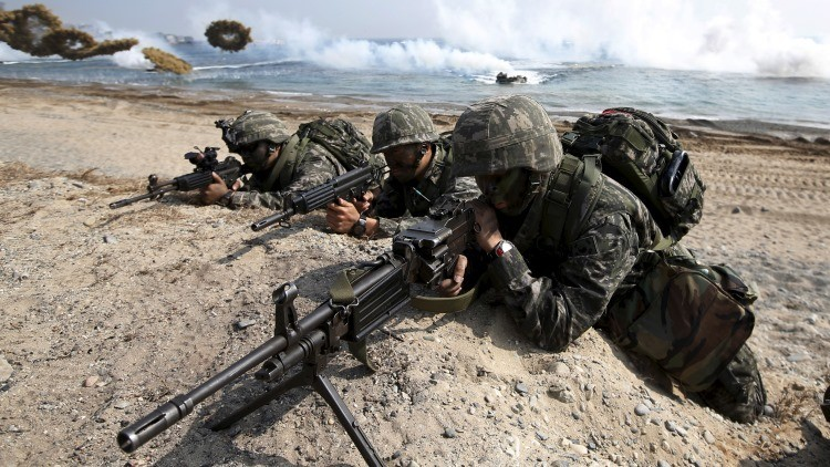Simulacros militares conjuntos de Corea del Sur y EE.UU., 2015