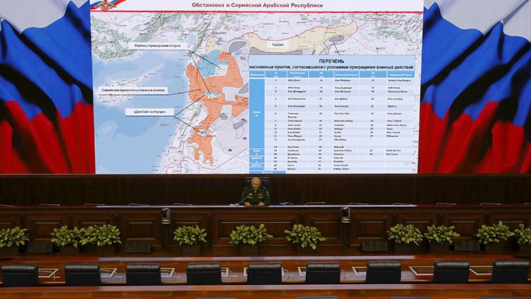 Rusia podría usar la fuerza militar contra infractores de la tregua en Siria desde el 22 de marzo