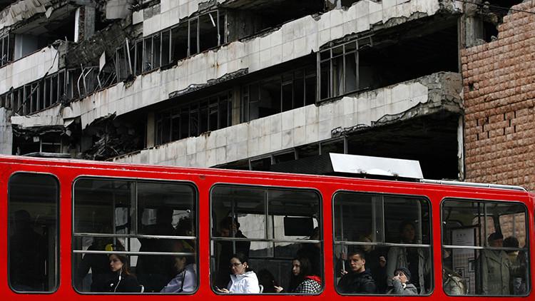 Serbia: Un hombre se suicida con una granada de mano en una confitería de Belgrado