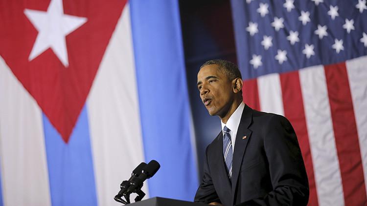 """Obama: """"EE.UU. planea ampliar el uso del dólar en Cuba"""""""