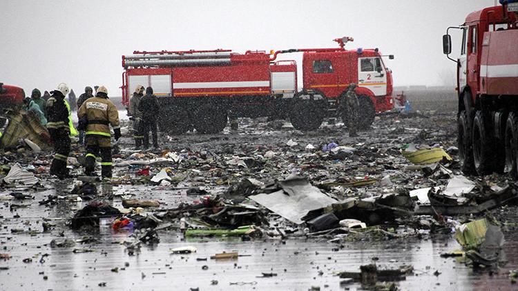 Publican un nuevo video del momento del siniestro del Boeing 737-800 en Rusia