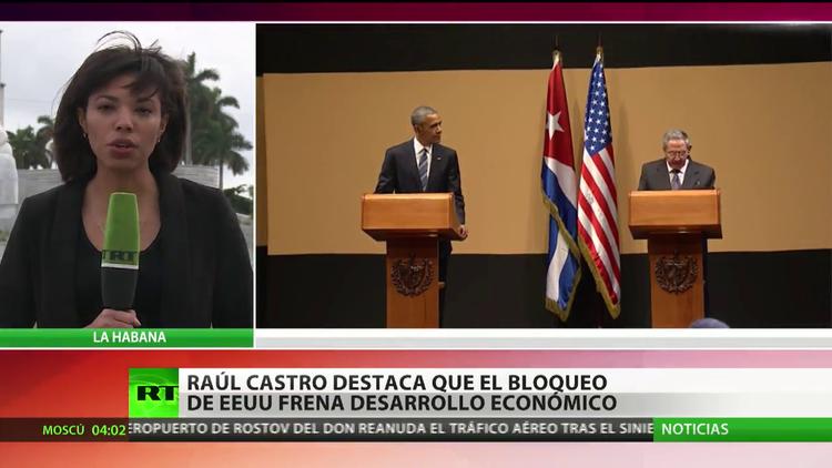 Raúl Castro denuncia que el bloqueo de EE.UU. frena el desarrollo económico