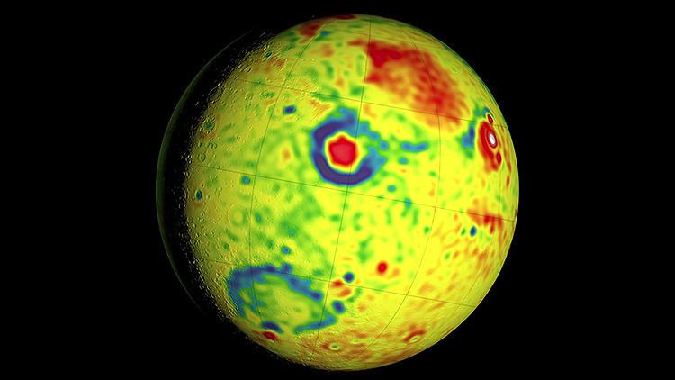 Video: Así es el detallado mapa de la gravedad de Marte