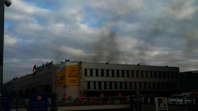 Video, fotos: Así fueron las explosiones en el metro de Bruselas