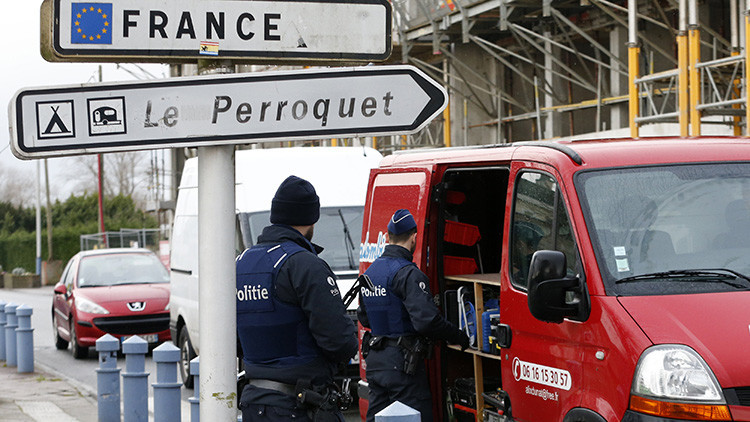 Cierran la frontera entre Bélgica y Francia por una serie de atentados en Bruselas
