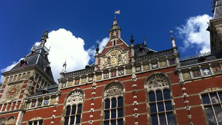 Fotos: Tiroteo cerca de la estación central de Ámsterdam