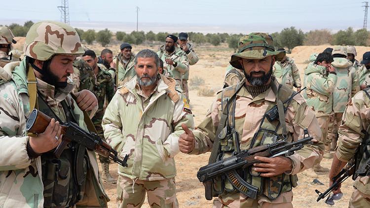 El Ejército sirio se prepara para dar el 'golpe final' al Estado Islámico en Palmira