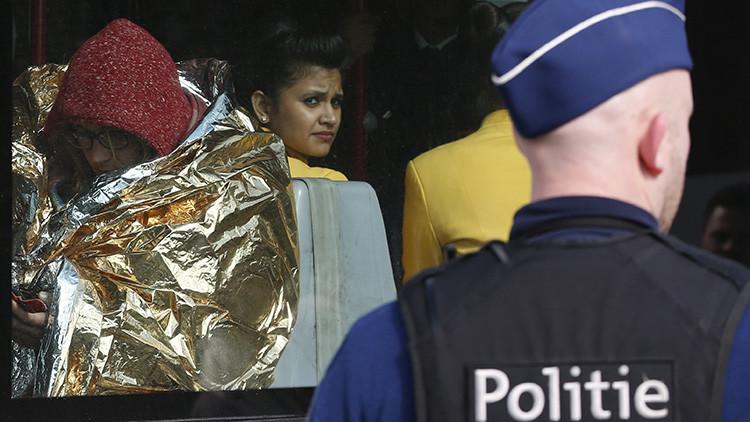 Nuevo video: Aparecen fuertes imágenes del caos que vivió el aeropuerto de Bruselas tras el atentado