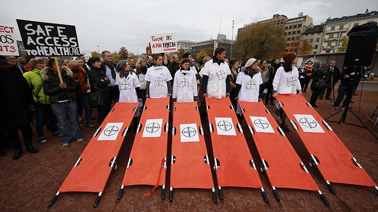 """Un comandante de EE.UU. pide perdón a las víctimas del hospital que fue bombardeado """"por error"""""""