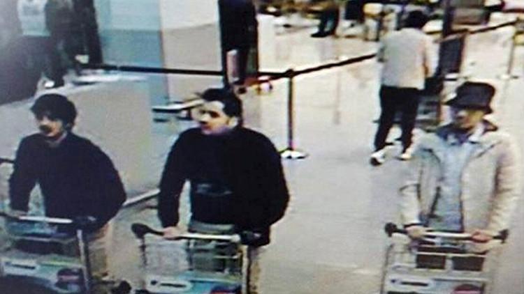 Identifican a sospechosos del atentado en el aeropuerto de Bruselas