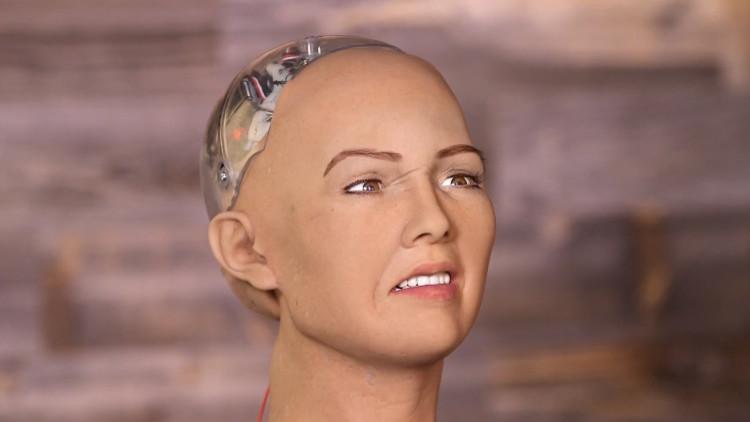 Sofía, el robot estadounidense que promete aniquilar la humanidad (video)