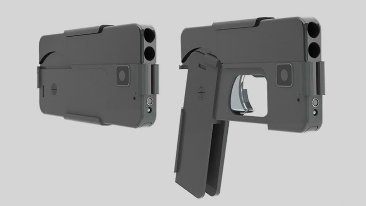 Rápido y mortal: El 'celular' que dispara