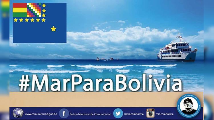La Paz convoca a manifestarse en las redes sociales con el 'hashtag' #MarParaBolivia