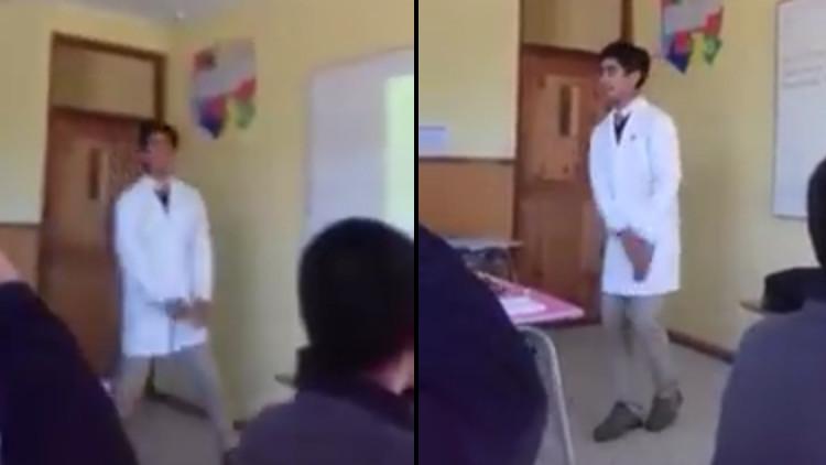Video: Un profesor de Historia chileno enseña con canciones de rap