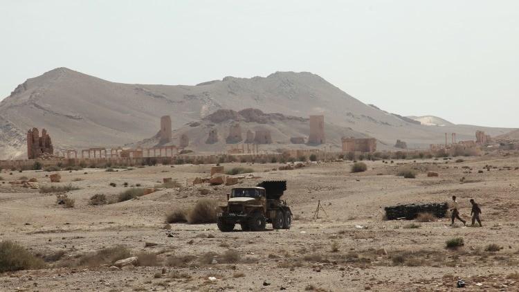 Siria: Un comando ruso muere a manos del Estado Islámico en Palmira
