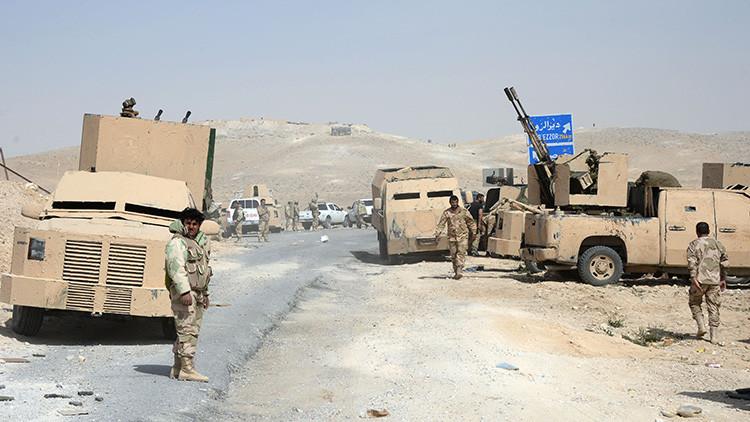 Los terroristas del Estado Islámico intentan huir de Palmira