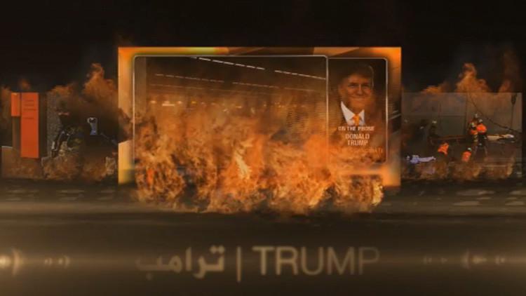 El Estado Islámico usa la imagen de Donald Trump en un video de propaganda